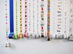 Mel Stampz: Crafty tape ideas round-up! {washi or other tape varieties - How to: make them, use them, and store them} Mt Tape, Masking Tape, Washi Tape Crafts, Washi Tapes, Arts And Crafts, Diy Crafts, Paper Tape, Smash Book, Diy Projects To Try