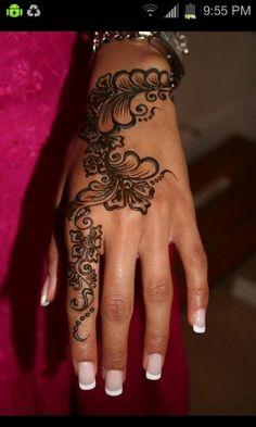 henna tat. still beautiful :)