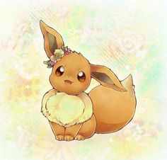 Image about pokemon in kawaii🍭 by SF on We Heart It Pokemon Fan Art, All Pokemon, Pikachu Pikachu, Pokemon Eeveelutions, Eevee Evolutions, Eevee Cute, Mimi Chat, Pokemon Mignon, Images Kawaii