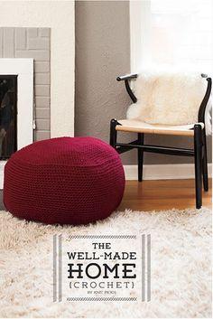 @mooglyblog shared The Well Made Home, a @knitpicks #crochet book featuring ten patterns