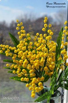 Флористика искусственная 8 марта Лепка Последние работы 2 Пластика Фарфор холодный фото 1