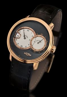 A new creation to its CLASSIC collection DeWitt the CLASSIC Jumping Hour (See more at: http://watchmobile7.com/articles/dewitt-classic-jumping-hour) (3/4) #watches #dewitt