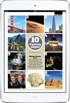 Telegraph Ski and Snowboard Tablet Magazine. More on www.magpla.net MagPlanet #TabletMagazine #DigitalMag