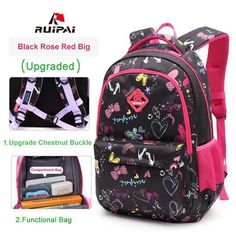9913ad9e79 RUIPAI Kids School Bags Children Backpacks Girls and Boys Backpack Schoolbag  Mochila Bookbag Big and Small Size Kids Baby Bags