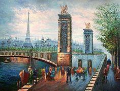 Paris-Fine Art Oil Paintings