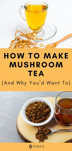 We're going to teach you everything you need to know about which mushroom make the best tea, PLUS the potential health benefits of mushroom tea. Health Benefits Of Mushrooms, Mushroom Benefits, Mushroom Tea, Maitake Mushroom, Tumeric And Ginger, Ancient Recipes, Tea Blog, Tea Benefits, Best Tea