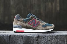 "The latest addition to New Balance's coveted ""Made in USA"" division comes in the form of an all-new..."