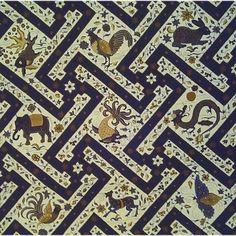 Batik Cirebon - Banji Fauna