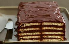 ΓΛΥΚΙΣΜΑΤΑ | Συνταγή για μαρκίζ με πτι μπερ. Γλύκισμα με μπισκότα, σοκολάτα και αμύγδαλα.