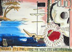 Keko Buenavista, tatuador profesional, vuelca en su obra plástica todo aquello que las limitaciones técnicas de la inyección de tinta sobre la piel no permiten desarrollar, al tiempo que impregna su pintura de una iconografía propia del arte del tatuaje. Su universo simbólico es rico en referencias pero de lectura sencilla, pues apela a sentimientos universales relacionados con las ansias de evasión, el amor eterno, la pasión, el extravío existencial, en definitiva, todo aquello que aúna…