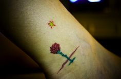 Future Tattoos, Love Tattoos, Small Tattoos, Tatoos, Piercings, The Little Prince, New Years Eve Party, Watercolor Tattoo, Tatting