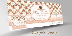 Ateliê Flora Design Gráfico: Combo de Logotipo + 3 itens de Identidade Visual: ...