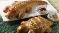 Making Animal Shaped Breads is a Great Activity for a Rainy Day . Kitchen Explorers . PBS Parents | PBS