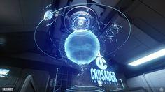 ArtStation - Star Citizen - Crusader Holo Globe (2D Assets), Gavin Bird