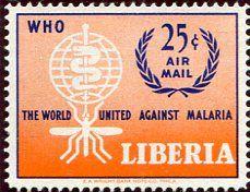 Francobolli . Lotta contro la malaria - Malaria on Stamps Liberia 1962