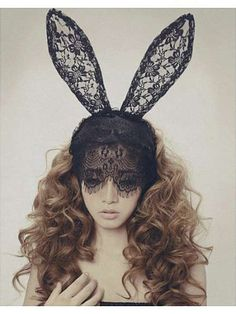 The 'Choies' Rabbit Ears Accessory is Something Out of Alice in Wonderland #halloween #accessories trendhunter.com