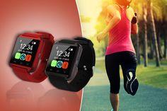 Bluetooth Smart Watch - 2 Colours!