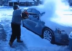Discover & share this Snow GIF with everyone you know. GIPHY is how you search, share, discover, and create GIFs. Car Gif, Snow Gif, Leaf Blower, Best Funny Pictures, Good To Know, Life Hacks, Monster Trucks, How To Remove, Cleaning