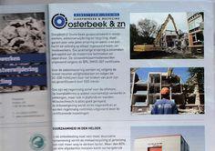 Mijn gegeven bouwfoto's vallen in de smaak bij Oosterbeek sloopwerken! Voor het 3e jaar staan 2 foto's van mij in de gemeentegids! ;) (y)