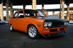 Datsun 510. Love this car. https://www.pinterest.com/dapoirier/cars/