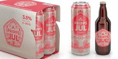Pripps Jul. #beer #packaging #beverage