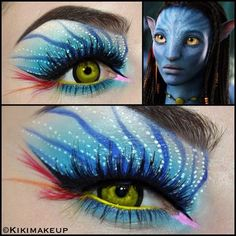 Mind Blowing Makeup | Inspired Eye Makeup is mind blowing!What is your movie inspired makeup ...