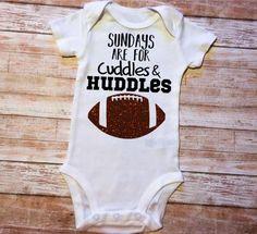 Newborn Football, Football Onesie, Football Baby Shower, Custom Baby Onesies, Baby Boy Shirts, Boy Onesie, Cricut Baby Shower, Baby Shower Gifts, Baby Messages