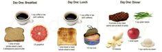 Military Diet Day 1 Menu Plan