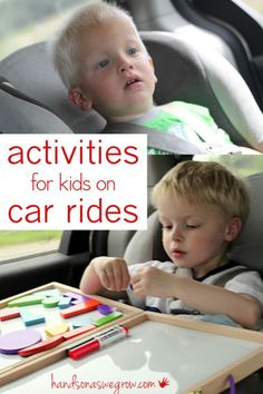 Some good activities to do with the kids on car ride