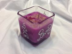 Add Rhinestones to Any Candle by TBCCandles on Etsy, $2.50