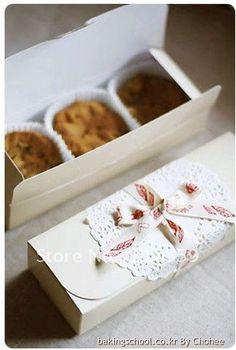 For macarons, florentines, fudge, brownies and cookies