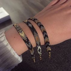 Metallics! #shinebrightlikeadiamond #yoursarmcandy #yrsarmcandy #armcandy #bracelet #beads #beadedbracelets #metallics #weefarmband #beadloom #handmadejewelry #handmade #etsy #miyuki #miyukibeads #miyukibracelet #armband #stackingbracelets #ibizabracelet #kralen #jewelry #jewellery #sieraden