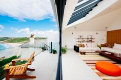 Gwel an Treth, luxury self catering Sennen Cove. Designer holiday home in West Cornwall.