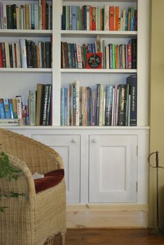 fireplace fitted cupboards