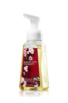 Japanese Cherry Blossom Gentle Foaming Hand Soap - Anti-Bacterial - Bath & Body Works | Smells so good! My fave!