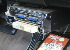 8 track player - Yeap had it in my first car.
