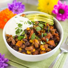 Celebrate Cinco de Mayo the Healthy Way With This One-Pot Sweet Potato and Black Bean Chili | Brit + Co