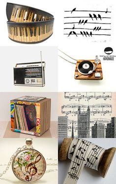 A variety of MUSIC based paraphernalia. #MUSIC http://www.pinterest.com/TheHitman14/music-paraphenalia/