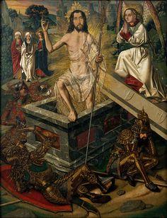 Bartolomé Bermejo - Resurrection of Christ