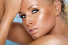 How to Do Eye Makeup | one dramatic eye make up style is to first apply black kohl to the ...