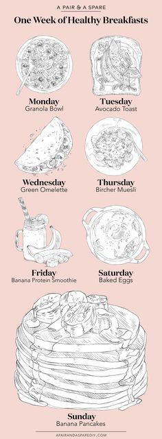 Healthy Ways to Change up your Breakfast Routine