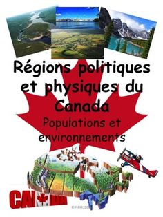 "French Immersion, Grade 4 Social StudiesIntegrate this resource in your social studies unit about ""Les rgions physiques et politiques du Canada"" with accurate information at the reading level of your French Immersion students!This resource is intended to develop the vocabulary and content about the Canadian Physical and Political Regions in French, support the understanding  and impact of the physical regions on human activities in Canada and provide  students with some activities they will… Physique, French Immersion, Canada, Reading Levels, Social Science, Social Studies, Vocabulary, Homeschool, Content"