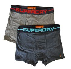Superdry Mens Sport Boxer Double Pack - Light Grey/Navy/Red & Navy/Blu – Moyheeland Traders