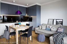aranżacja salonu z aneksem kuchennym 20m2 - Szukaj w Google