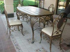 Мебель кованая