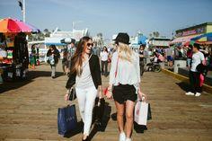 #OOTD at the Santa Monica Pier!  #HelloGorgeous