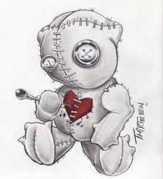 – Vudu – Rent, Buy or Watch Movies with No Fee! Creepy Drawings, Dark Art Drawings, Tattoo Design Drawings, Voodoo Doll Tattoo, Voodoo Dolls, Arte Horror, Horror Art, Drugs Art, Doll Drawing