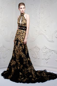 Alexander McQueen Resort 2013 - I can see Jennifer Laurence wearing this for the 2nd Hunger Games movie premiere!