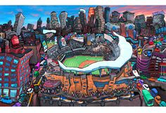 love this guy! have the mpls stone arch bridge one and the downtown st. paul one... but kind of want them all and don't know where i'd put them all :)
