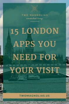 15 Must Have Apps For London – Two Magnolias : Take your visit to from ho-hum to amazing with these must-have apps. They will help you navigate the city like a local and find the hidden London. London Eye, London City, London Food, Travel Guides, Travel Tips, Travel Destinations, Food Travel, Travel Hacks, Holiday Destinations